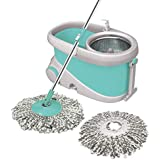 Spotzero by Milton Prime Mop with Big Wheels and Stainless Steel Wringer