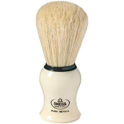 Omega Professional Pure Bristle Shaving Brush (10066) with Ayur Product in Combo