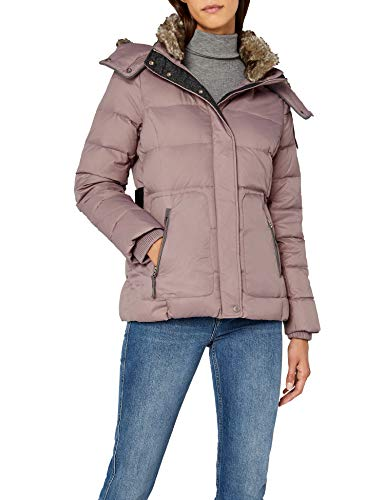 ESPRIT Damen Jacke 087EE1G011, Violett (Mauve 550), Medium