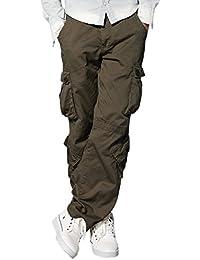 Match Men's Retro Casual Cargo Trousers #3357