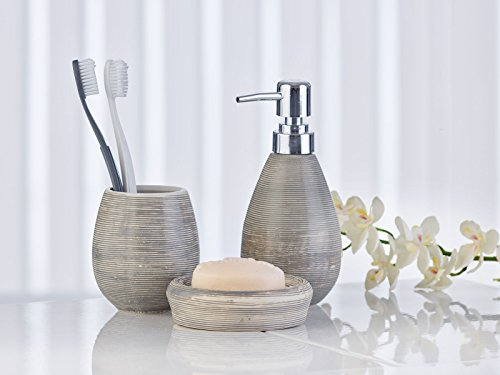 Set di accessori bagno accessori bagno di oxford axentia in