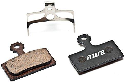 AWE® Pastiglie Freno a Disco Metallico Semi Shimano Deore