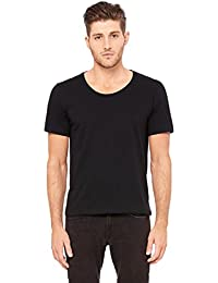 3406Bella + toile Jersey col large T-shirt pour homme