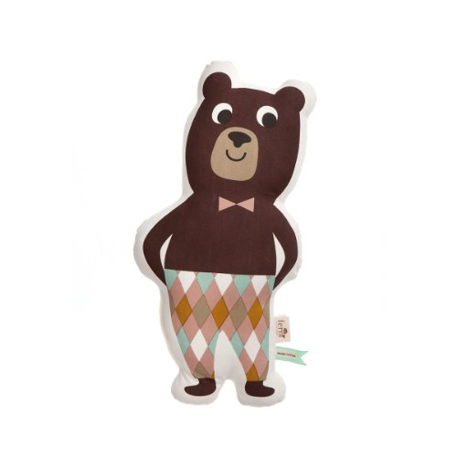 Ferm Living Kissen Mr Bear - 26 x 50 cm