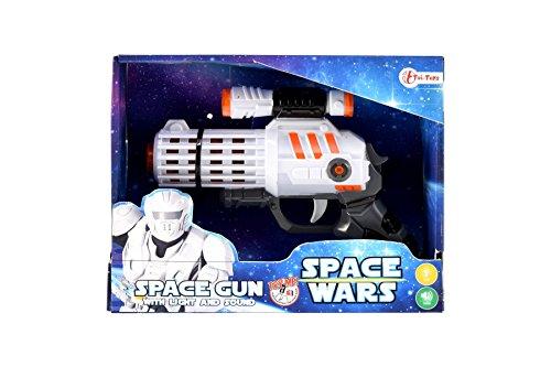 Toi-Toys 12088 Die Pistole mit Licht und Sound für kleinen Star Wars Krieger (Alien Invasion Kostüm)
