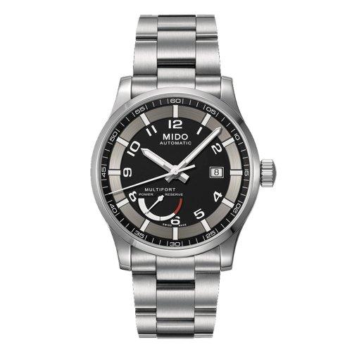 Mido Multifort Power Reserve Men's Automatic Watch Swiss M005.424.11.052.02