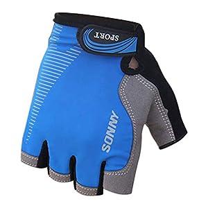 Chenang Verschleißfeste Handschuhe, Rutschfest Sporthandschuhe Fehlender Finger Winterhandschuhe Allzweck Im Freien Skatinghandschuhe