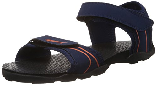 Sparx Men's Navy Blue and Orange Athletic and Outdoor Sandals - 6 UK/India (40 EU)(SS0703G)