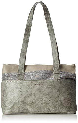 Tamaris Damen Khema Shoulder Bag Schultertasche, Grau (Grey Comb), One Size