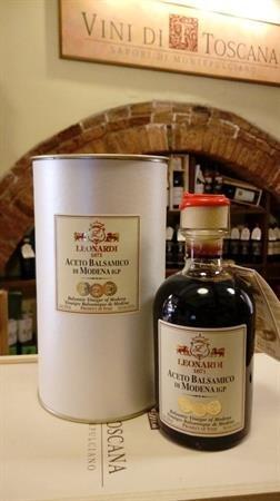 Aceto Balsamico di Modena IGP 6 TRAVASI 250 ml LEONARDI Vini di Toscana