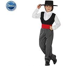 Angel Tomas S.A. - Disfraz cordobés infantil, talla 2, 5-6 años