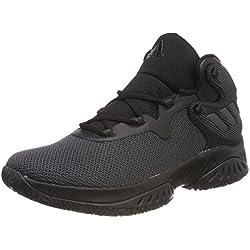 Adidas Explosive Bounce, Zapatillas de Baloncesto para Hombre, Negro (Negbás/Nocmét/Neguti 000), 46 EU