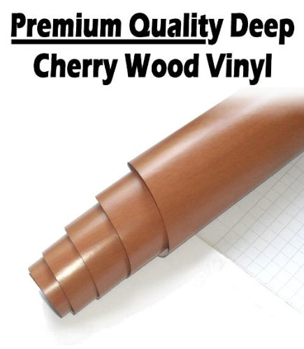 tis-tm-2-x-a4-sheets-deep-cherry-wood-self-adhesive-sticky-back-plastic-vinyl-covering-film-for-cupb