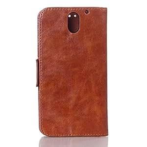 GENERIC Luxury Pattern Oil Skin Wallet Leather Case for HTC Desire 610#01661751