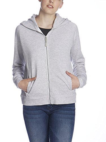 Bench Damen Strickjacke Dodge, Grau (Light Grey Marl GY155X), Small