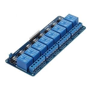 415hKRBBusL. SS300  - Kuman 5V 8 Canales Escudo Módulo de Relé para Arduino UNO R3 1280 2560 ARM PIC AVR STM32 Raspberry Pi DSP K30