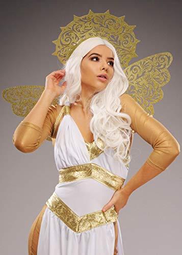 Magic Box Int. Deluxe Damen Gold Glitter Angel Wings und ()