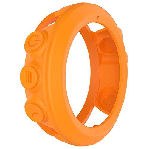 Bulary - Coque de protection en silicone pour montre intelligente Garmin Fenix 3, Fenix 3 HR, Quatix 3 - Accessoires de protection de rechange