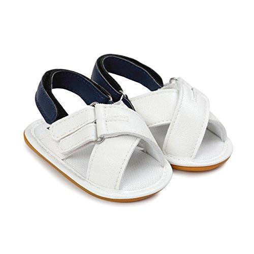Krabbelschuhe Sandalen, Chcikwin Weiche Alleinige Kleinkind Schuhe Krabbelschuhe 6-18 Monate (A, 12-18Monat) (Primigi Schuhe Kleinkinder)