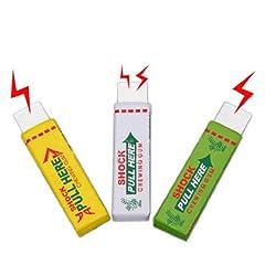 Idea Regalo - Dcolor 3X sicurezza della novita' dello shock elettrico da masticare gomma da masticare del bavaglio di trucco divertente di scherzo di burla
