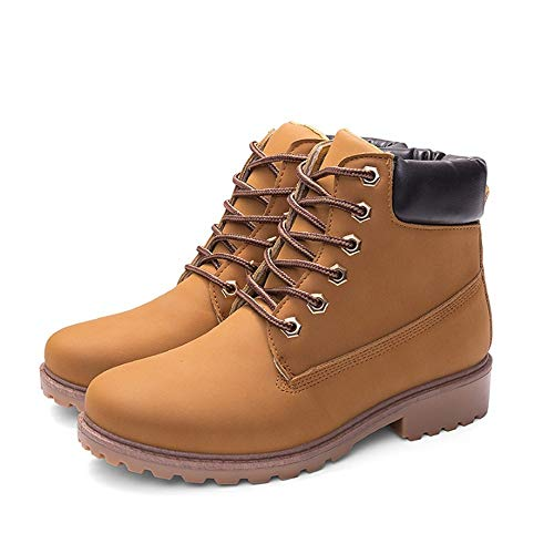 r Frauen Schuhe Flache Schuhe Warme Frauen Stiefel Frauen Stiefeletten Tarnung Stiefel, 39 ()