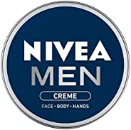 NIVEA Men Crème, Non Greasy Moisturizer, Cream for Face, Body & Hands, 7