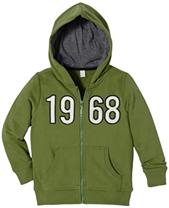 ESPRIT Tops à capuche À capuche Manches longues Garçon - Vert - Grün (313 FERN GREEN) - FR : 6 ans (Taille fabricant : 116/122)