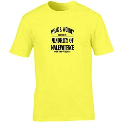 S Tees Herren T-Shirt Gelb