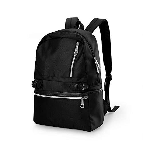 Jungen Schultaschen großer Rucksack für Jugendliche Rucksack High School Rucksack für Jungen Schüler Brusttasche schwarz 45x32x13cm