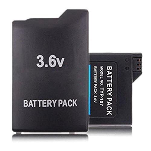 storeinbox Hohe Kapazität Li-ion Akku Pack für PSP 3600mAh Portable Akku-packs
