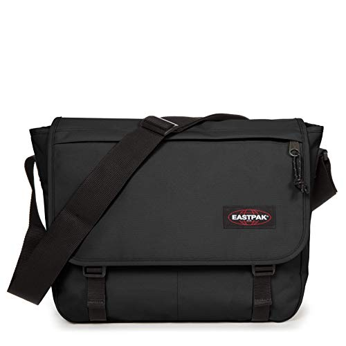 Eastpak Delegate + Borsa Messenger, 38 cm, 20 liters, Nero (Black)
