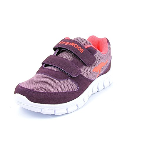 KangaROOS Bluekids 2082 Ii, Baskets Basses fille Lilas