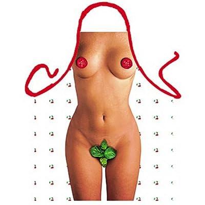 bedruckte Karneval Grillschürze - sexy Motiv: Tomate & Basilikum Girl - coole lustige Fasching Party Koch Schürze Fastnacht
