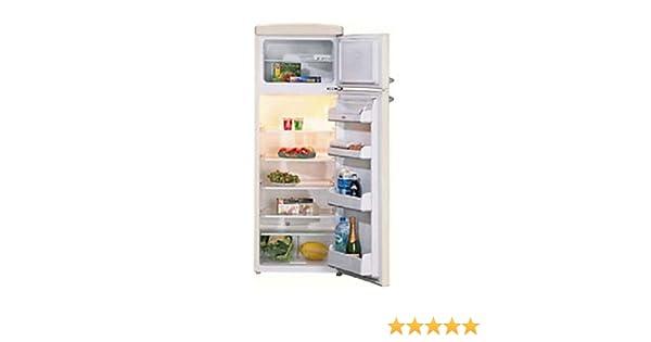 Retro Kühlschrank Ebd : Ebd kühl gefrierkombination kg classic elfenbein ekk a