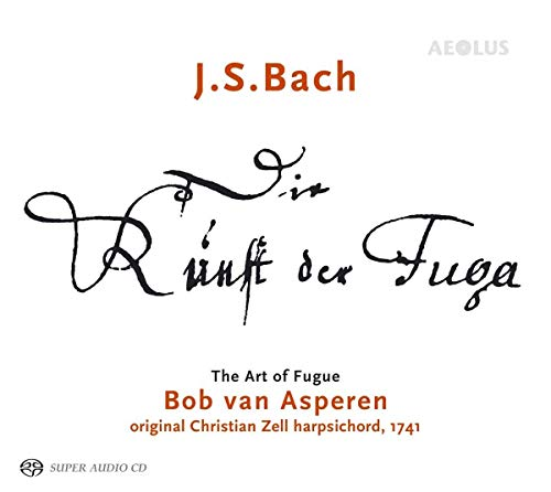 JS Bach: The Art Of The Fugue