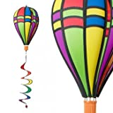 Windspiel - Satorn Balloon TWISTER RETRO - wetterbeständig - Ballon:Ø25cm