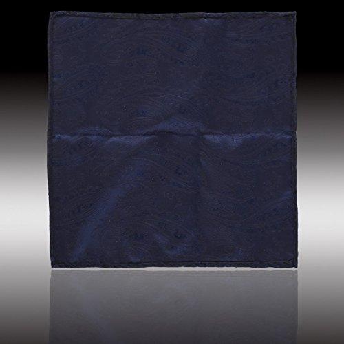 EEF1B01-03 microfibre Carr¨¦ de poche Motif boutons de manchette Set par Epoint EEF1B03C-Bleu