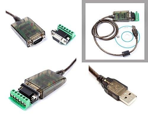 KALEA-INFORMATIQUE © - Convertisseur USB vers RS485 CHIPSET FTDI FT232 - Permet le montage d