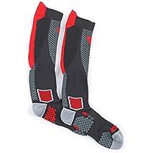 Dainese D-Core High Sock, Schwarz/Rot, Größe M