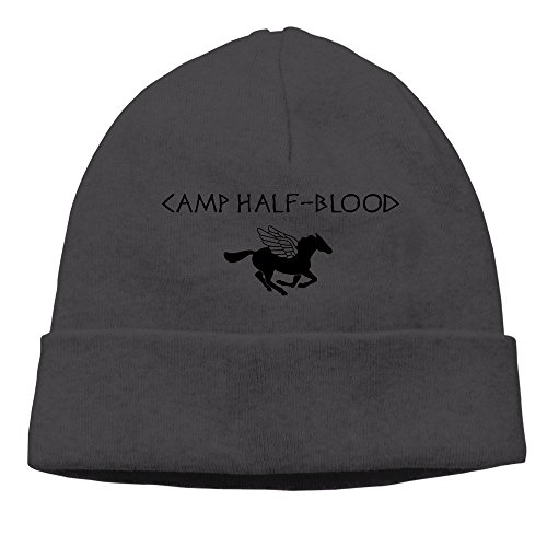 xcarmen Camp Half-Blood Men/Women hip-hop hat beanie Knitted Cap Black