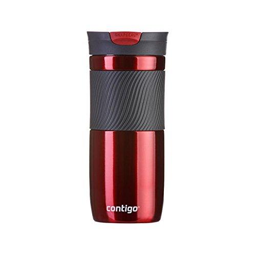 Contigo Travel Mug (Contigo Byron 16 Travel Mug, Red, 16 oz/470 ml)