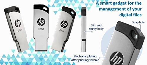 HP FD236W 32GB USB 2.0 Pen Drive (Gray)
