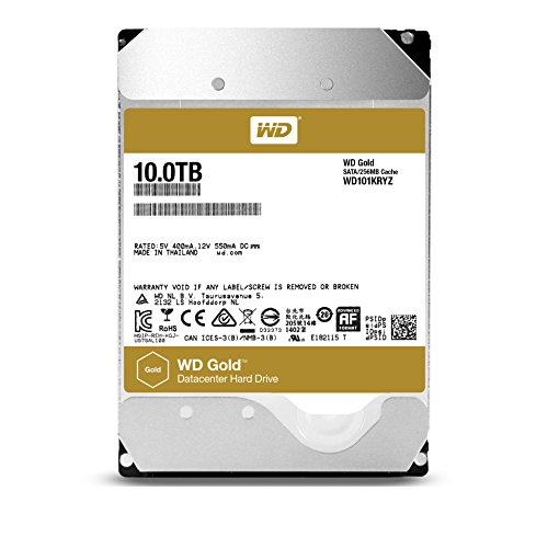 Buy WD 10 TB Enterprise Hard Drive – Gold Special