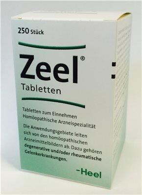 Zeel Tabletten-250 Stück (250 ST)