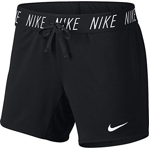 Nike Damen Shorts Dry Attk Tr5, Black/White, S