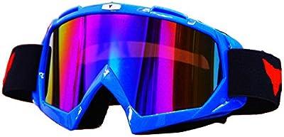 Al aire libre snowboard Gafas protectoras anti-vaho Gafas de esquí Gafas de sol Negro Blanco Azul Rojo(1pc)
