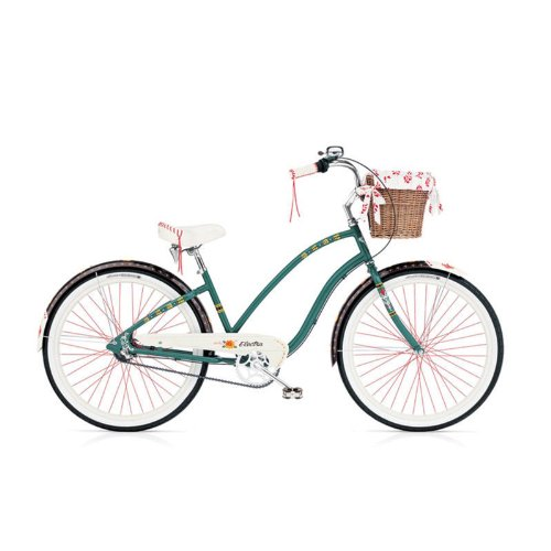 3-speed-Electra-Gypsy-forest-green-Ladies-3-I