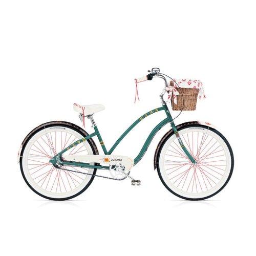 Electra Gypsy 3i Damen Fahrrad Grün Beach Cruiser Rad Retro 3 Gang, 254141E -