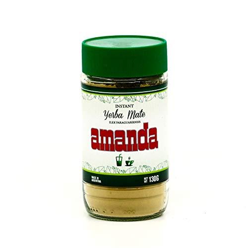 Amanda Instant Yerba Mate Cocido Soluble 130 gr