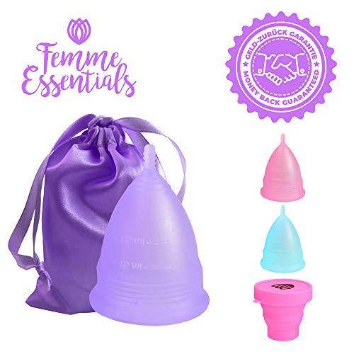 Copa Menstrual Femme Essentials | 100% Silicona Hipoalergénica
